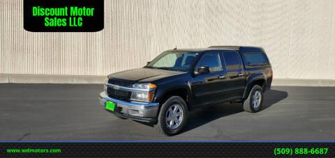 2011 Chevrolet Colorado for sale at Discount Motor Sales LLC in Wenatchee WA