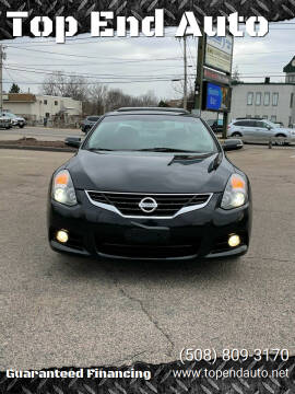 2012 Nissan Altima for sale at Top End Auto in North Atteboro MA