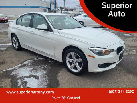 2015 BMW 3 Series for sale at Superior Auto in Cortland NY