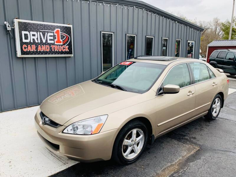 2003 Honda Accord for sale at Drive 1 Car & Truck in Springfield OH