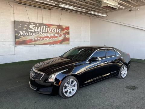 2013 Cadillac ATS for sale at SULLIVAN MOTOR COMPANY INC. in Mesa AZ