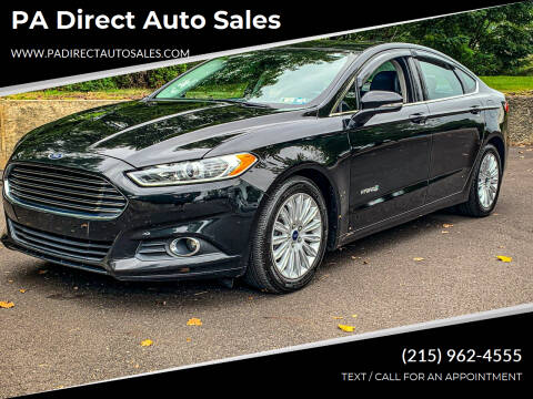 2015 Ford Fusion Hybrid for sale at PA Direct Auto Sales in Levittown PA