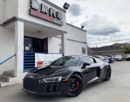 2017 Audi R8 for sale at Fastrack Auto Inc in Rosemead CA
