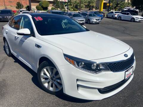 2016 Kia Optima for sale at Boulevard Motors in St George UT
