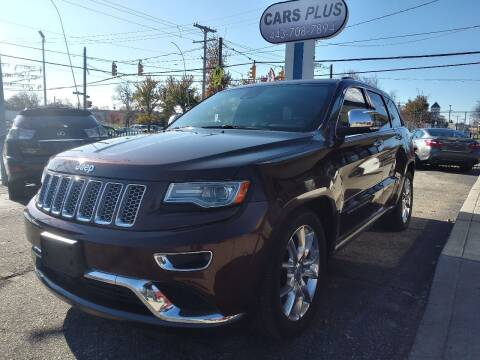 2014 Jeep Grand Cherokee for sale at i3Motors in Baltimore MD