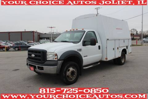 2007 Ford F-550 Super Duty for sale at Your Choice Autos - Joliet in Joliet IL
