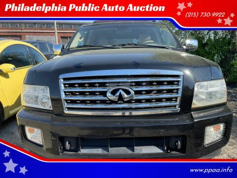 2008 Infiniti QX56 for sale at Philadelphia Public Auto Auction in Philadelphia PA