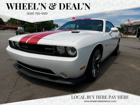 2014 Dodge Challenger for sale at Wheel'n & Deal'n in Lenoir NC