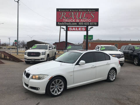 2011 BMW 3 Series for sale at RAUL'S TRUCK & AUTO SALES, INC in Oklahoma City OK