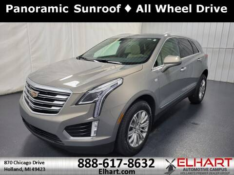 2018 Cadillac XT5 for sale at Elhart Automotive Campus in Holland MI