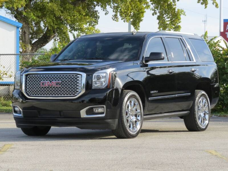 2015 GMC Yukon for sale at DK Auto Sales in Hollywood FL