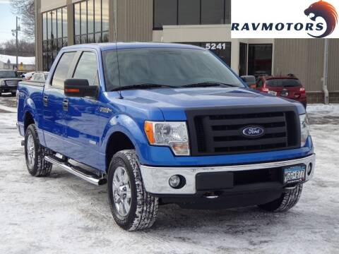 2011 Ford F-150 for sale at RAVMOTORS 2 in Crystal MN
