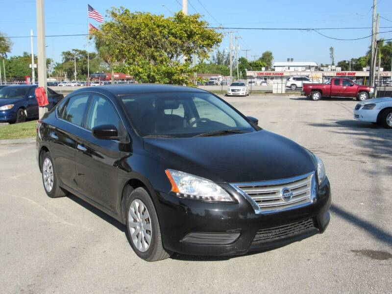 2014 Nissan Sentra for sale at United Auto Center in Davie FL