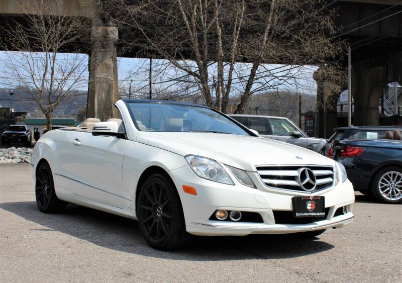 2011 Mercedes-Benz E-Class for sale at Cutuly Auto Sales in Pittsburgh PA