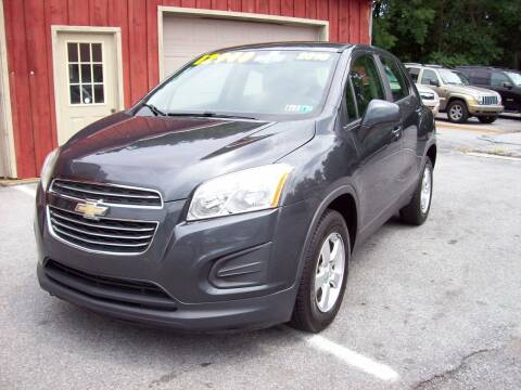 2016 Chevrolet Trax for sale at Clift Auto Sales in Annville PA