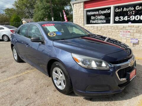 2015 Chevrolet Malibu for sale at GOL Auto Group in Austin TX