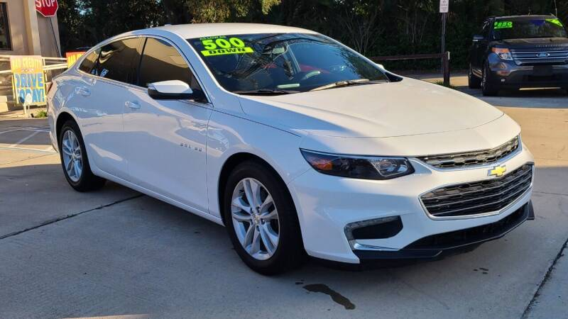 2016 Chevrolet Malibu for sale at Dunn-Rite Auto Group in Longwood FL