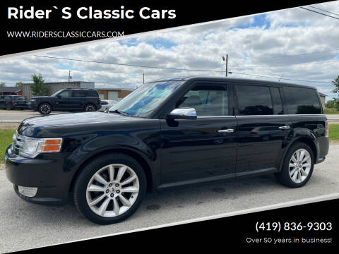 2012 Ford Flex for sale at Rider`s Classic Cars in Millbury OH