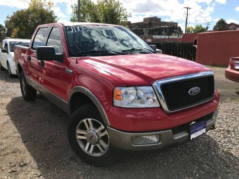 2005 Ford F-150 for sale at 3-B Auto Sales in Aurora CO