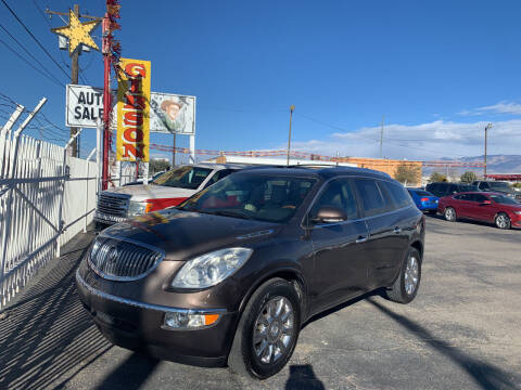2012 Buick Enclave for sale at Robert B Gibson Auto Sales INC in Albuquerque NM