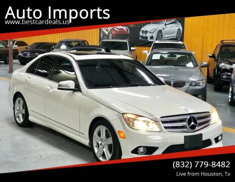 2010 Mercedes-Benz C-Class for sale at Auto Imports in Houston TX