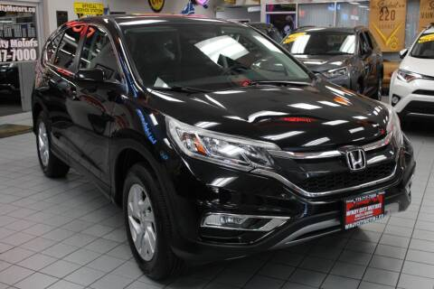 2016 Honda CR-V for sale at Windy City Motors in Chicago IL