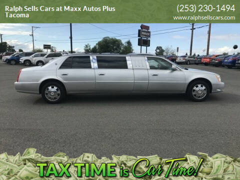 2010 Cadillac DTS Pro for sale at Ralph Sells Cars at Maxx Autos Plus Tacoma in Tacoma WA