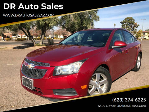 2013 Chevrolet Cruze for sale at DR Auto Sales in Glendale AZ
