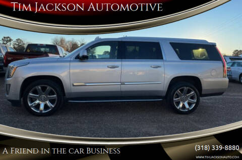 2020 Cadillac Escalade ESV for sale at Tim Jackson Automotive in Jonesville LA