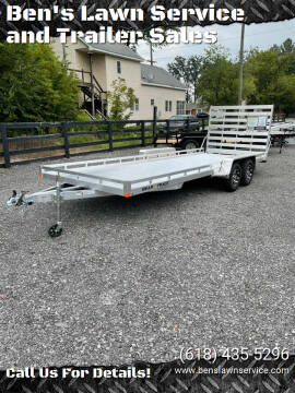 2022 BearTrack BTT81242S for sale at Ben's Lawn Service and Trailer Sales in Benton IL