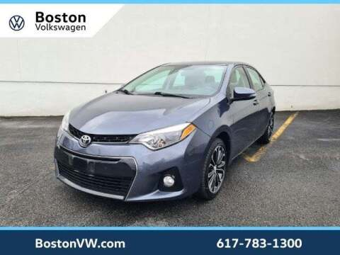 2015 Toyota Corolla for sale at Boston Volkswagen in Watertown MA
