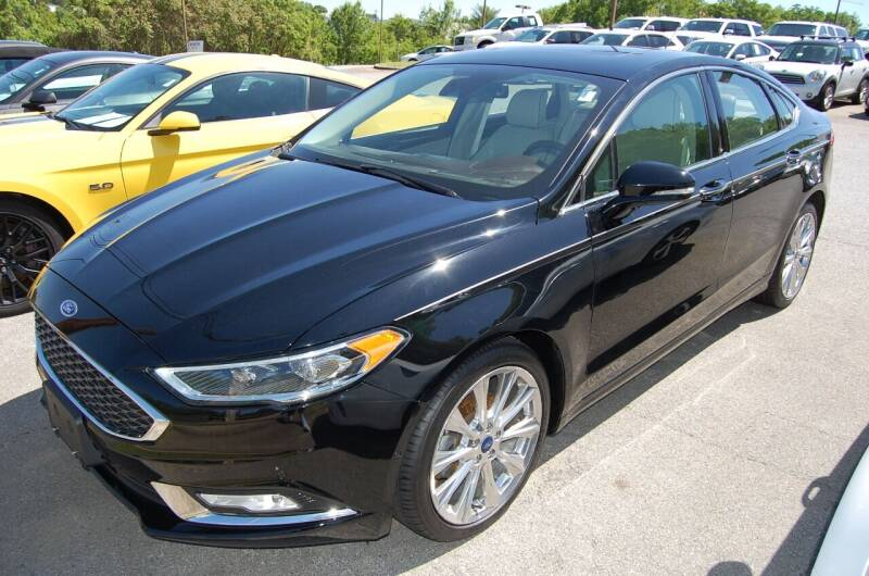 2017 Ford Fusion for sale at Modern Motors - Thomasville INC in Thomasville NC