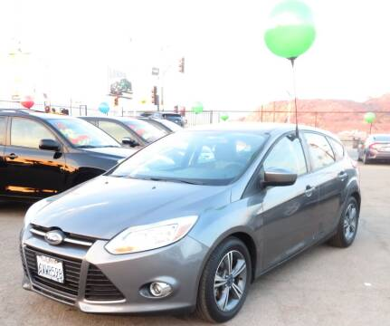 2012 Ford Focus for sale at Luxor Motors Inc in Pacoima CA