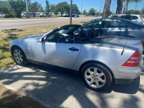 2000 Mercedes-Benz SLK for sale at Lenherr Auto Sales in Wilmington NC