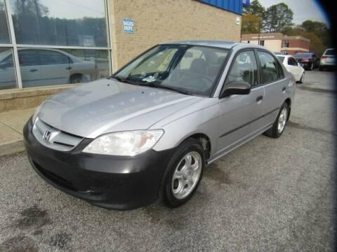 2005 Honda Civic for sale at Southern Auto Solutions - Georgia Car Finder - Southern Auto Solutions - 1st Choice Autos in Marietta GA