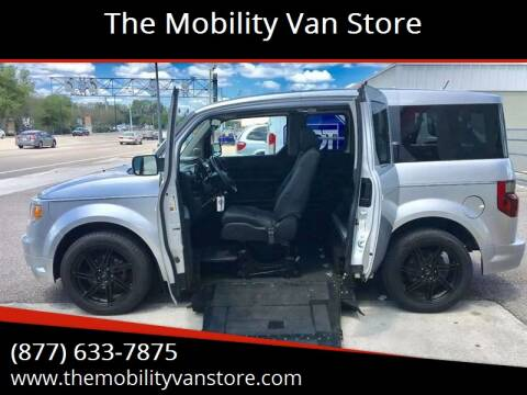 2007 Honda Element for sale at The Mobility Van Store in Lakeland FL