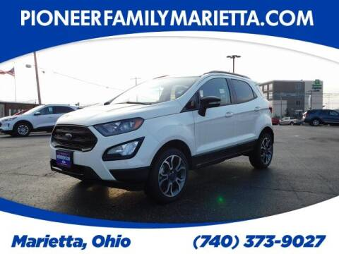 2020 Ford EcoSport for sale at Pioneer Family preowned autos in Williamstown WV