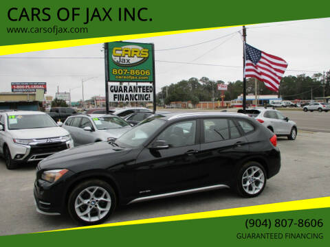 2015 BMW X1 for sale at CARS OF JAX INC. in Jacksonville FL