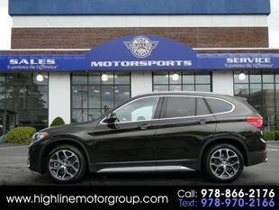 2020 BMW X1 for sale at Highline Group Motorsports in Lowell MA