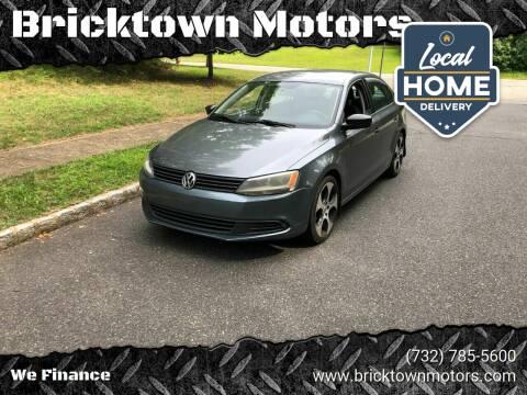 2011 Volkswagen Jetta for sale at Bricktown Motors in Brick NJ