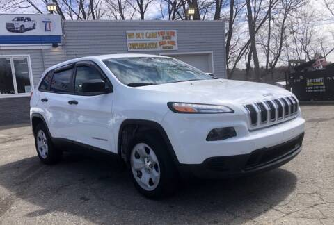 2014 Jeep Cherokee for sale at Top Line Import of Methuen in Methuen MA
