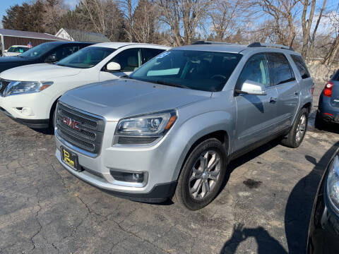 2013 GMC Acadia for sale at PAPERLAND MOTORS in Green Bay WI