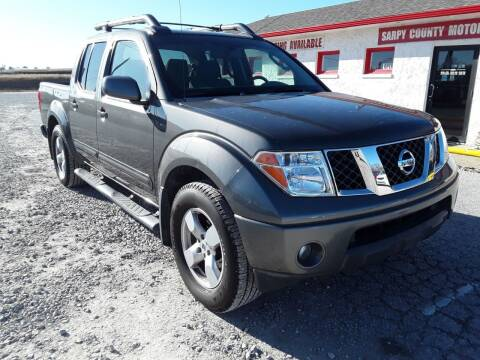 2007 Nissan Frontier for sale at Sarpy County Motors in Springfield NE
