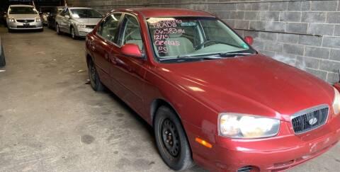 2003 Hyundai Elantra for sale at O A Auto Sale in Paterson NJ