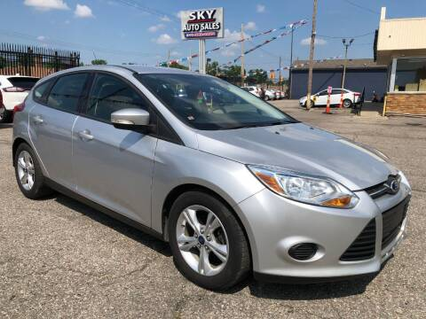 2013 Ford Focus for sale at SKY AUTO SALES in Detroit MI