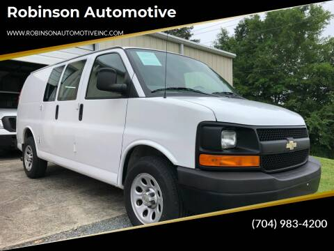 2011 Chevrolet Express Cargo for sale at Robinson Automotive in Albermarle NC
