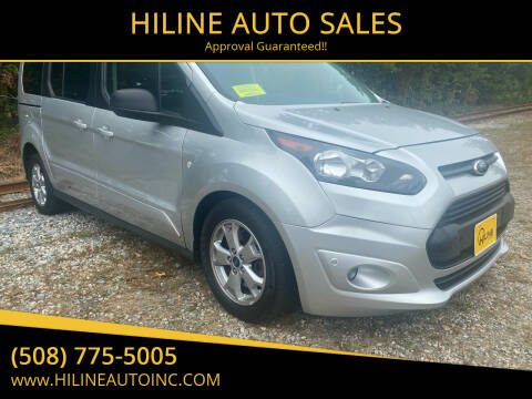 2014 Ford Transit Connect Wagon for sale at HILINE AUTO SALES in Hyannis MA