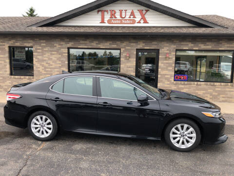 2019 Toyota Camry for sale at Truax Auto Sales Inc. in Deer Creek MN