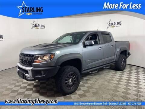 2019 Chevrolet Colorado for sale at Pedro @ Starling Chevrolet in Orlando FL