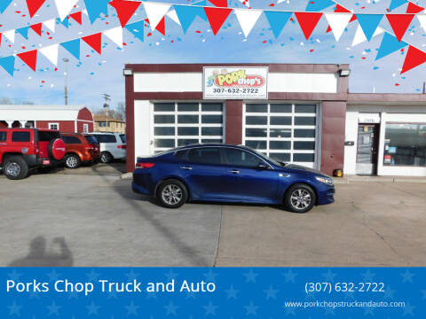 2016 Kia Optima for sale at Porks Chop Truck and Auto in Cheyenne WY